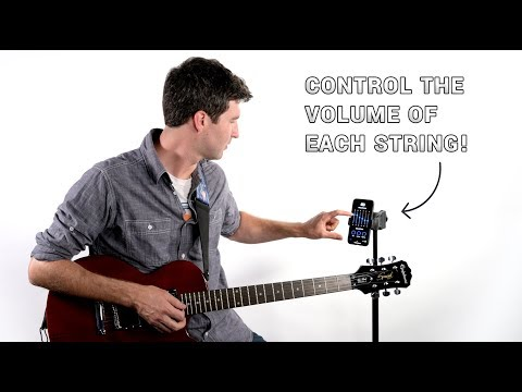 Individual String Volume control with the oPik optical guitar pickup!