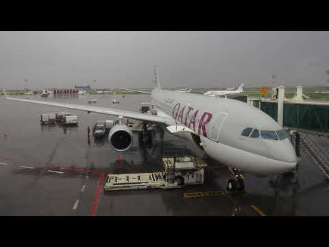 2018/03/23 Qatar Airways 1400 Announcement: Tunis - Doha