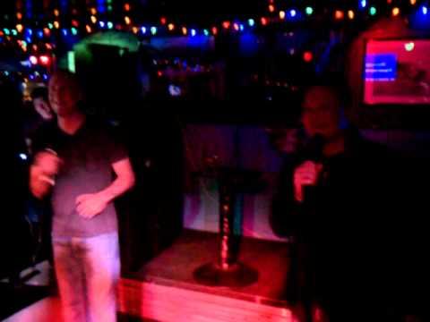 Alex and Billy Karaoke Togo Africa....