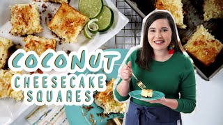 Easy-Bake Coconut Cheesecake Squares | Dreamy Bars | South's Best Recipes