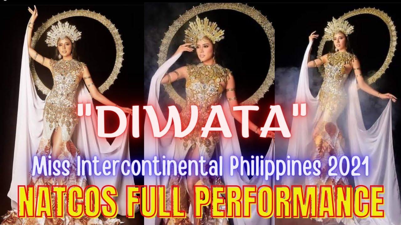 Cinderella Faye Obeñita NATIONAL COSTUME FULL PEFFORMANCE Miss Intercontinental Philippines 2021