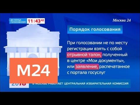 О порядке голосования на выборах президента России - Москва 24