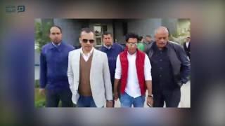 مصر العربية | لحظة وصول أحمد حمودي للنادي الأهلي