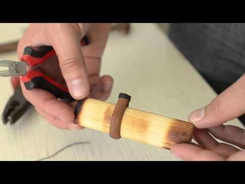 How To Play The Duduk. Lessons(Уроки игры на дудуке): Изготовление хомутка.