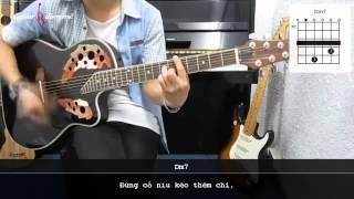 Dạy Học Guitar] [Đệm Hát] [Điệu Ballad]   Em kể anh nghe   Nguyễn Hải Phong