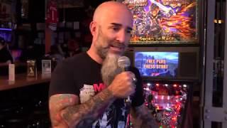 Legendary Guitarist Scott Ian discusses Black Knight Sword of Rage Pinball