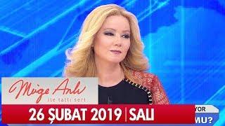 Müge Anlı ile Tatlı Sert 26 Şubat 2019 Salı - Tek Parça