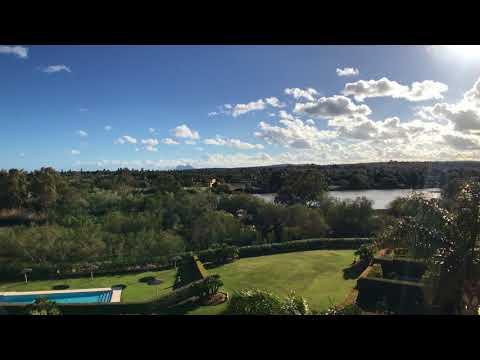 Amazing views from solarium penthouse in Sotogrande.