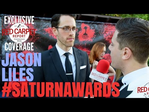 Jason Liles #Rampage interviewed at the 44th Annual Saturn Awards Red Carpet #SaturnAwards