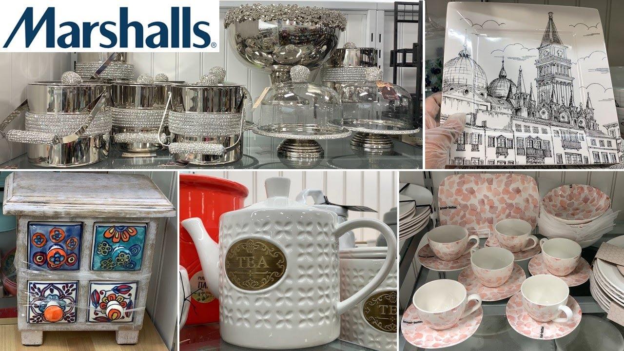 Marshalls Kitchen Home Decor * Dinnerware Kitchenware * Table Decoration Ideas   Shop With Me 2021
