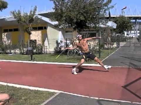 Tero Pitkämäki - Javelin Training