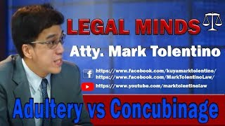 LM: Adultery vs Concubinage