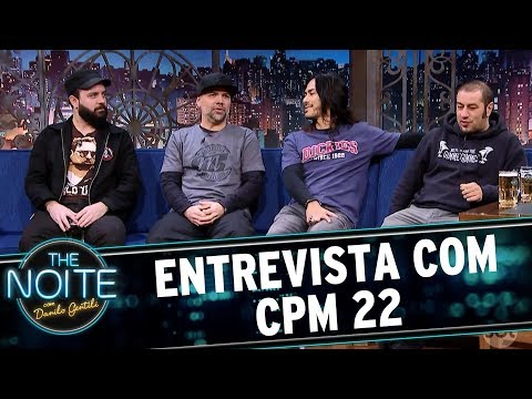 Entrevista com CPM 22 | The Noite (11/07/17)