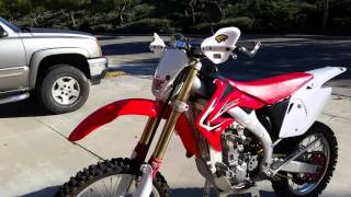 2006 Honda crf450x CA street legal