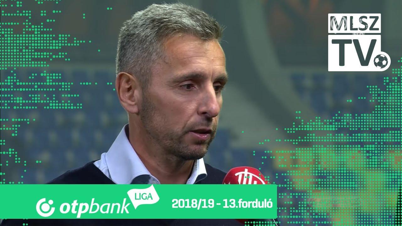 Edzői értékelések a Puskás Akadémia FC - DVTK mérkőzésen