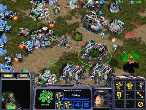 Starcraft Brood war T vs Z SLayerS_'BoxeR' Build