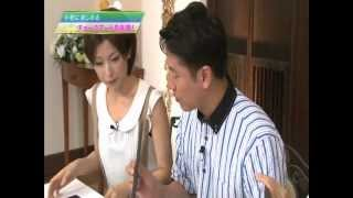 西村和彦さんとチョークアート体験。