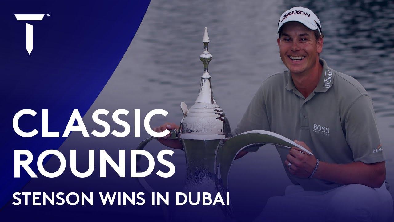 Henrik Stenson beats Tiger Woods & Ernie Els | 2007 Dubai Desert Classic | Classic Round Highlights