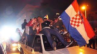 Središnja Bosna slavi pobjedu Hrvatske nad Engleskom