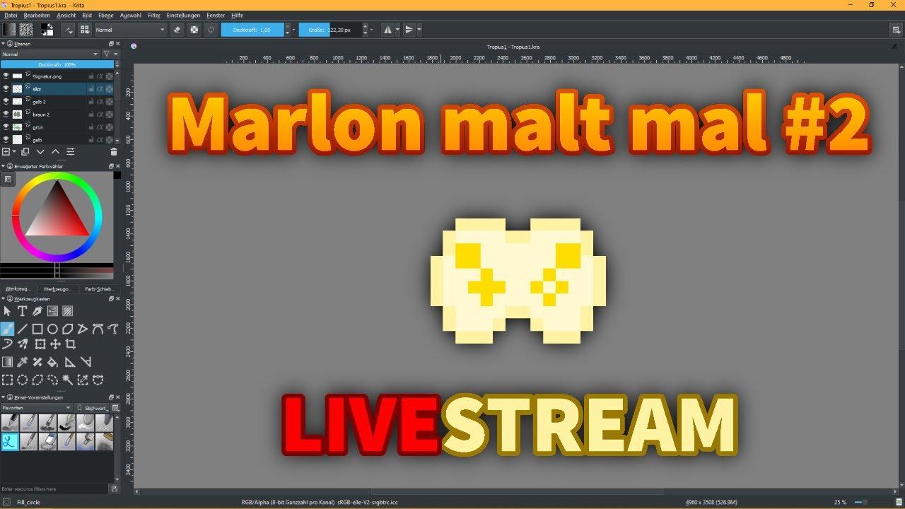 Qualitätskritzeln mit der Gelben Allianz | Marlon malt mal #2