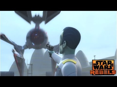 Star Wars Rebels: Ezra & Sabine steals an Imperial prototype TIE fighter