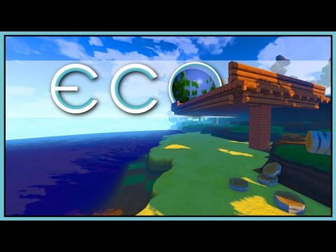 LUMBER MILL - All the Wood [Let's Play Eco Game / Eco Gameplay]
