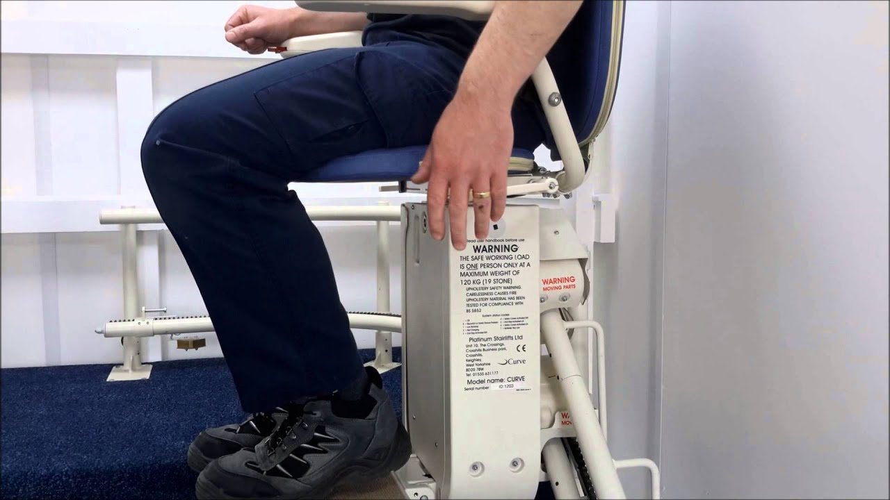 What is a Manual Swivel Seat on a Stairlift? - YouTube
