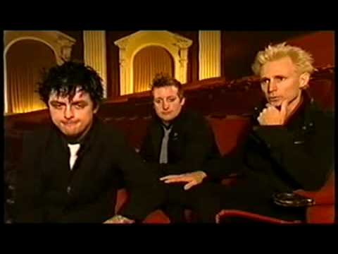 Green Day Planet Rock Interview Part 1