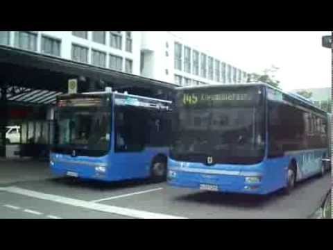buses in munich germany youtube. Black Bedroom Furniture Sets. Home Design Ideas