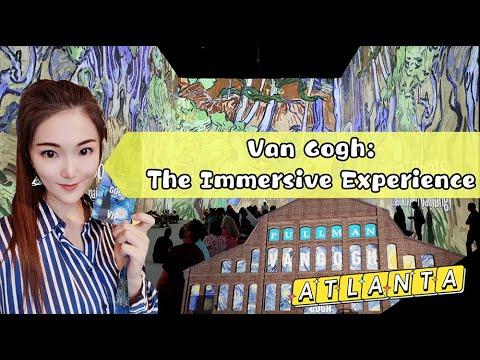 Van Gogh: The Immersive Experience Is Live In Atlanta