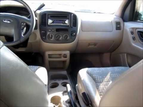 Quick Tour 2001 Ford Escape Xls Start Up Engine Brief Tour
