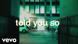 Virginia To Vegas - told you so (Lyric Video)