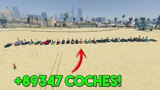 +83948 COCHES EN LA PLAYA DE LOS SANTOS! CONCURSO DE COCHES TUNEADOS! - GTA V ONLINE