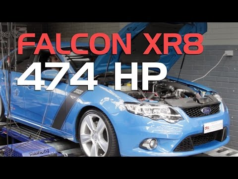 Ford Xr8 With A Bta Stage 4 Supercharger Kit 353kw At The Wheels Youtube