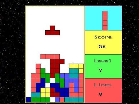 Tetris Game - JustdoCodings