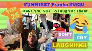Funniest Prank Videos Ever In The World - TRY Not To Laugh At Them!