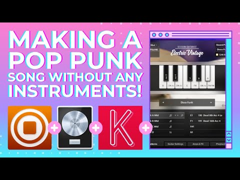 Maschine Plus | It's not just for hip hop! | How to make a Pop Punk Song