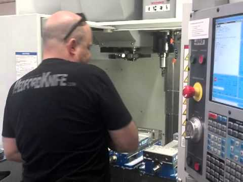 1st time on CNC Maker destroys HAAS mill...