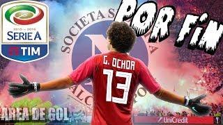 Guillermo Ochoa será Nuevo Jugador del NAPOLI  por 2 temporadas ◄►