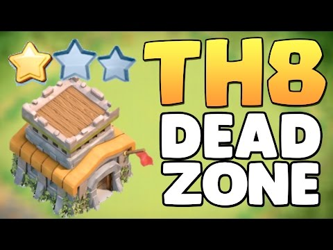 Town Hall 8 (TH8) WAR BASE | THE DEAD ZONE | ANTI 3 STAR/ANTI DRAGON | Clash Of Clans(coc)