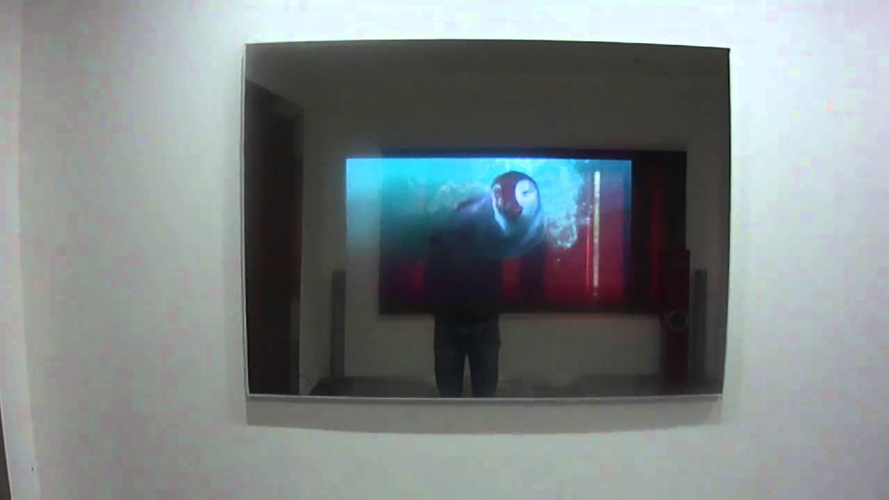 Specchio con Televisore vision mirror tv  YouTube
