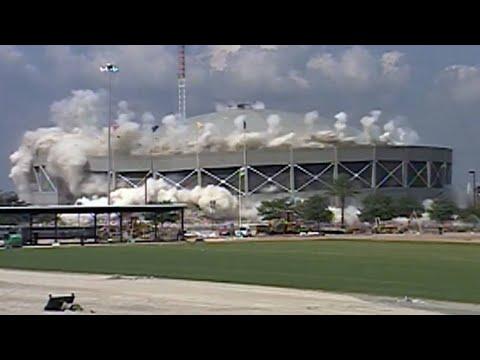 FROM THE VAULT: Jacksonville Memorial Coliseum imploded in June 2003
