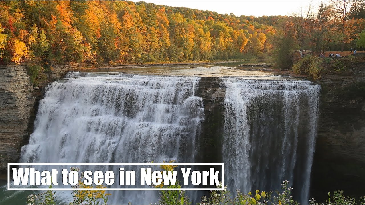 New York Waterfalls on a Harley-Davidson | Travel Series