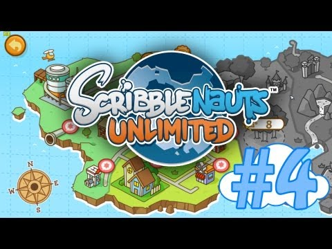 Scribblenauts, Ep 4 - Failure Undersea, Cleaning the Streets