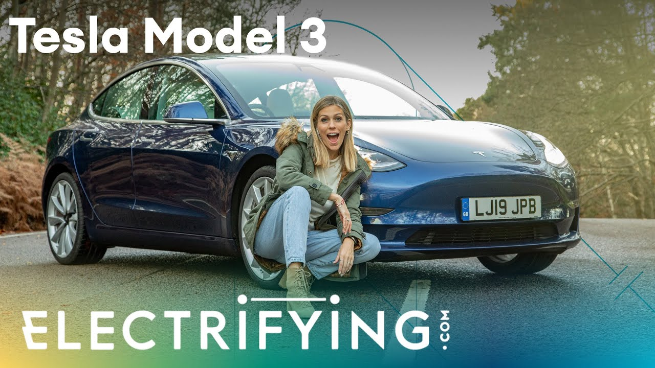 Tesla Model 3: In-depth 2020 UK review with Nicki Shields / Electrifying