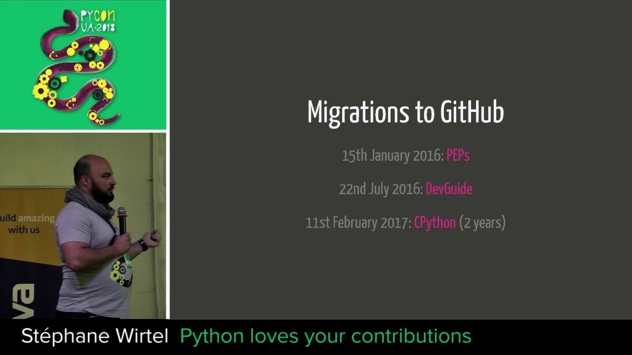 Image from Python loves your contributions
