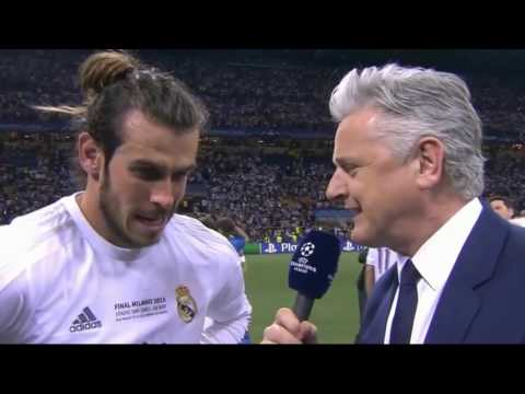 Real Madrid - Atletico Madrid Champions League match interview Gareth Bale