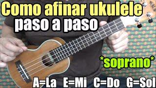 Curso completo  ukulele: Como afinar/How to tune/Afinacion estandar