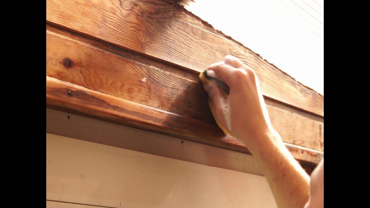 Holz Mit Hausmittel Entgrauen Entgrauer Für Den Wohnbereich Terasse Und Gartenmöbel Lifehack