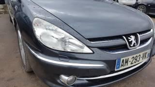Осмотр Peugeot 607 в Литве